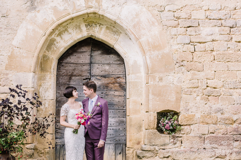 Stylish Destination Wedding | Chateau de Queille, France | Charlotte Hu Photography