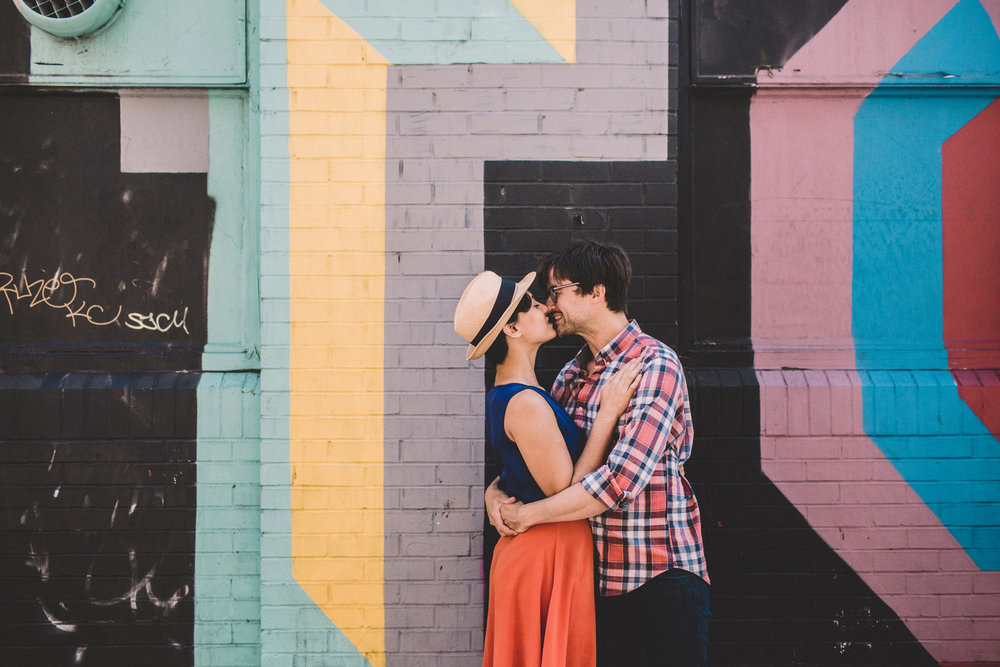 Urban Engagement Shoot in Shoreditch | Charlotte Hu Photography