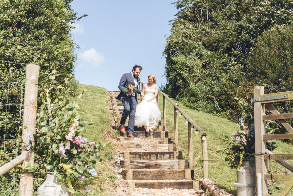 Wedding at Monxton Church and Tipi Reception at Rabbit Bank | Charlotte Hu Photography