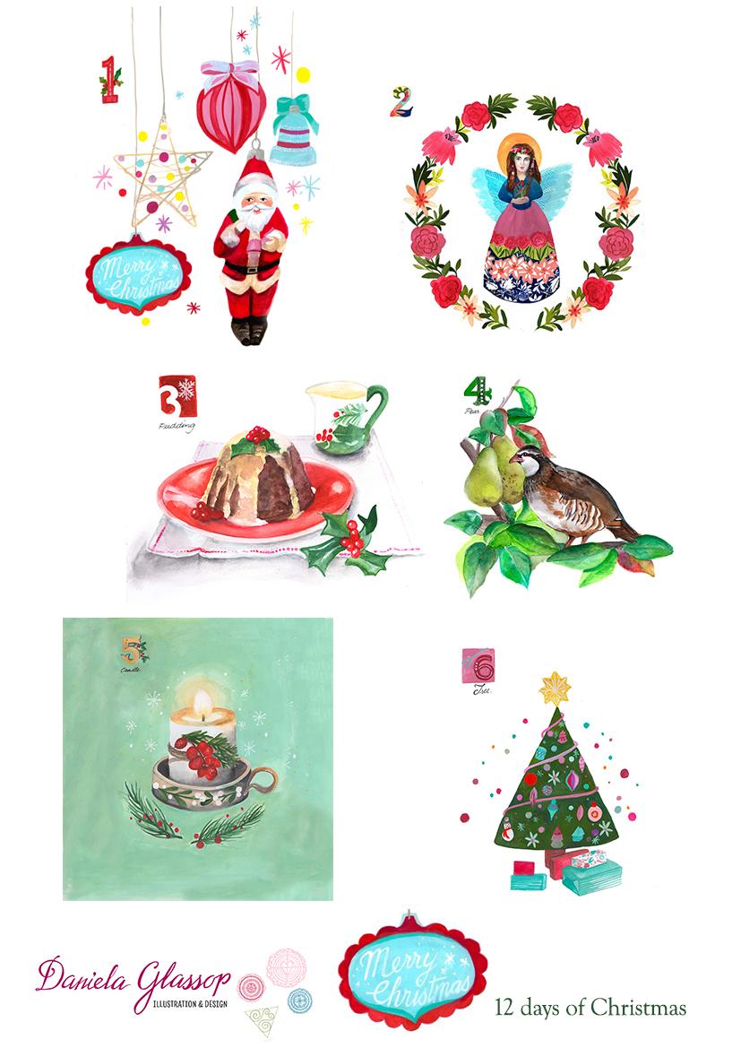 12 Days Of Christmas -