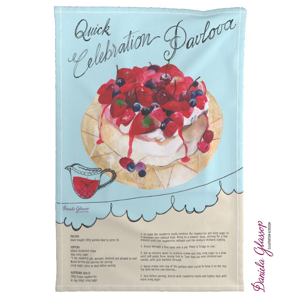 Celebration Pavlova recipe