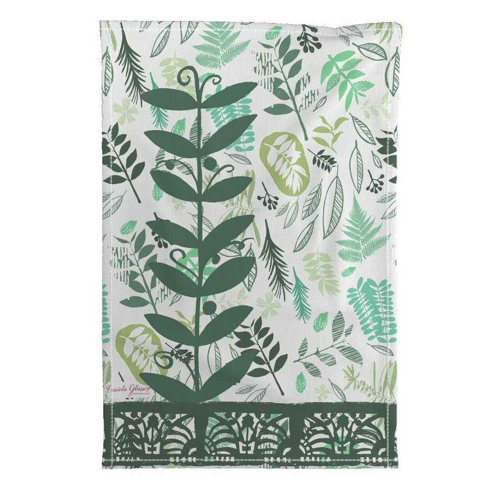 Botanicals with Block Prints