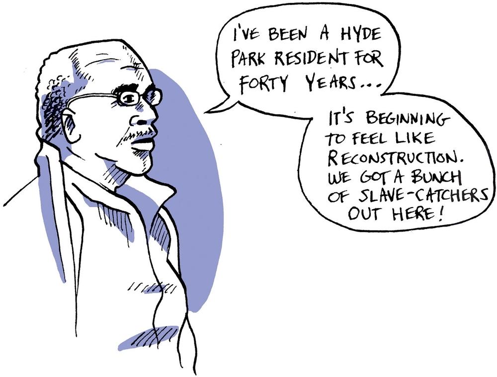 Mr. Osheel:Hyde Park Resident