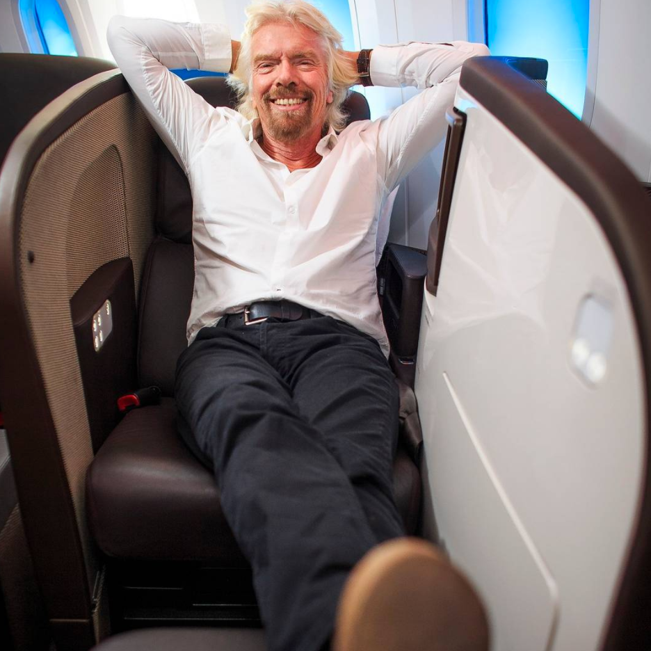Richard Branson | Instagram Takeover
