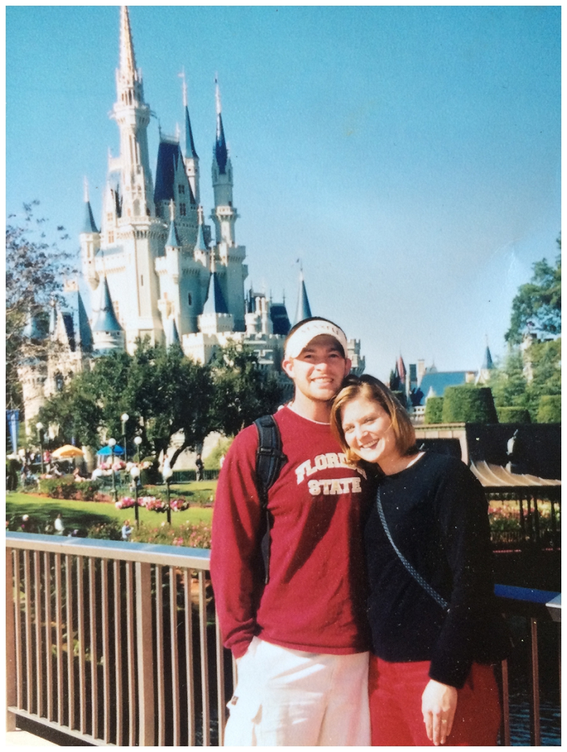 And one of the fun times at Disney when we could do stuff we wanted….you know, before kids ruined it.