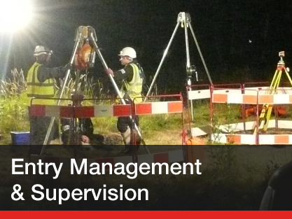 Supervisors, additional manpower & full confined space entry teams...