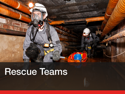 Confined space rescue advice, procedures & standby rescue teams...
