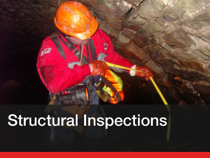 Inspection of confined spaces and underground structures...