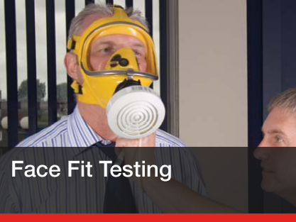 Quantitative and qualitative face fit testing services - Fit2Fit approved...