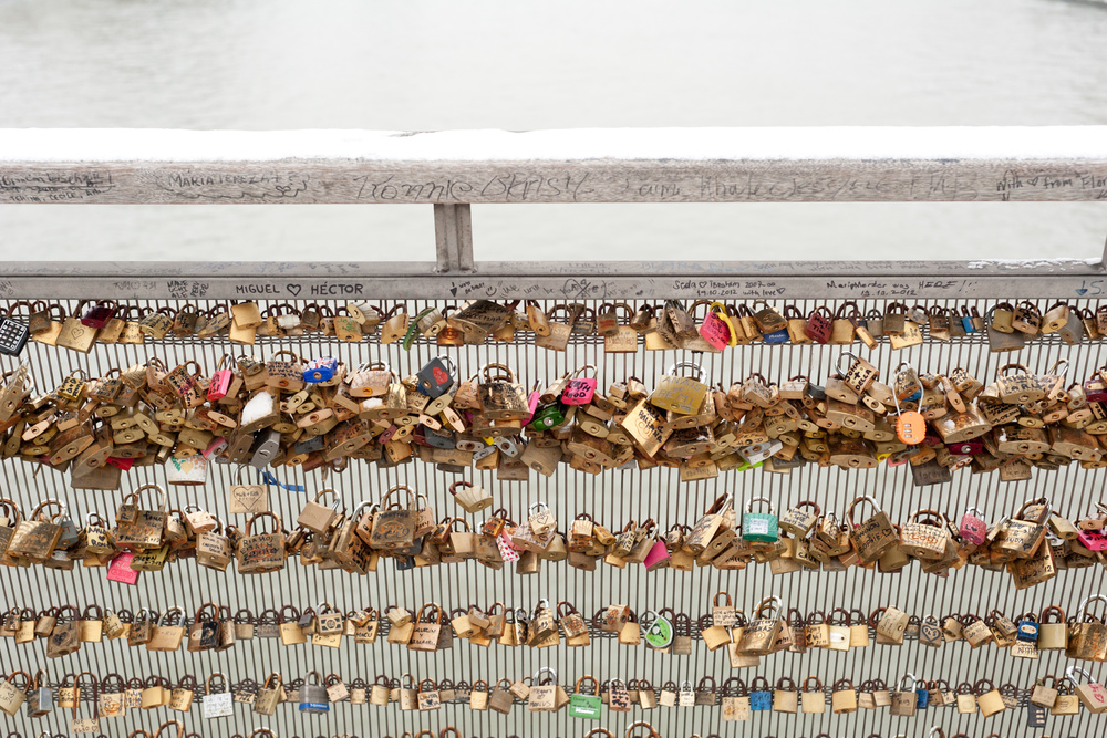 Love Locks 2, Paris, 2013