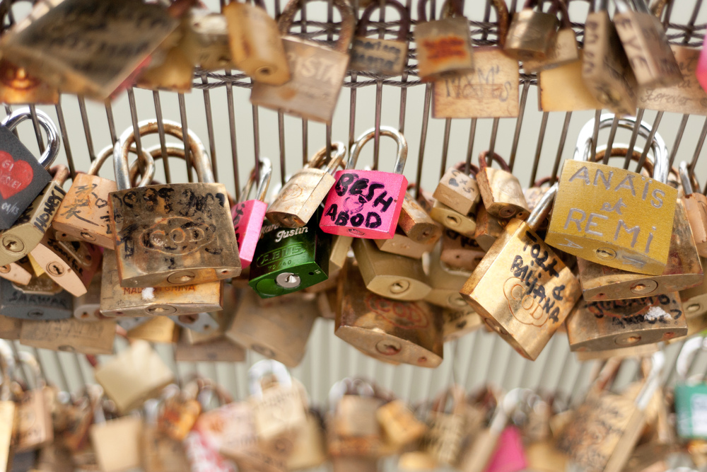 Love Locks 3, Paris, 2013