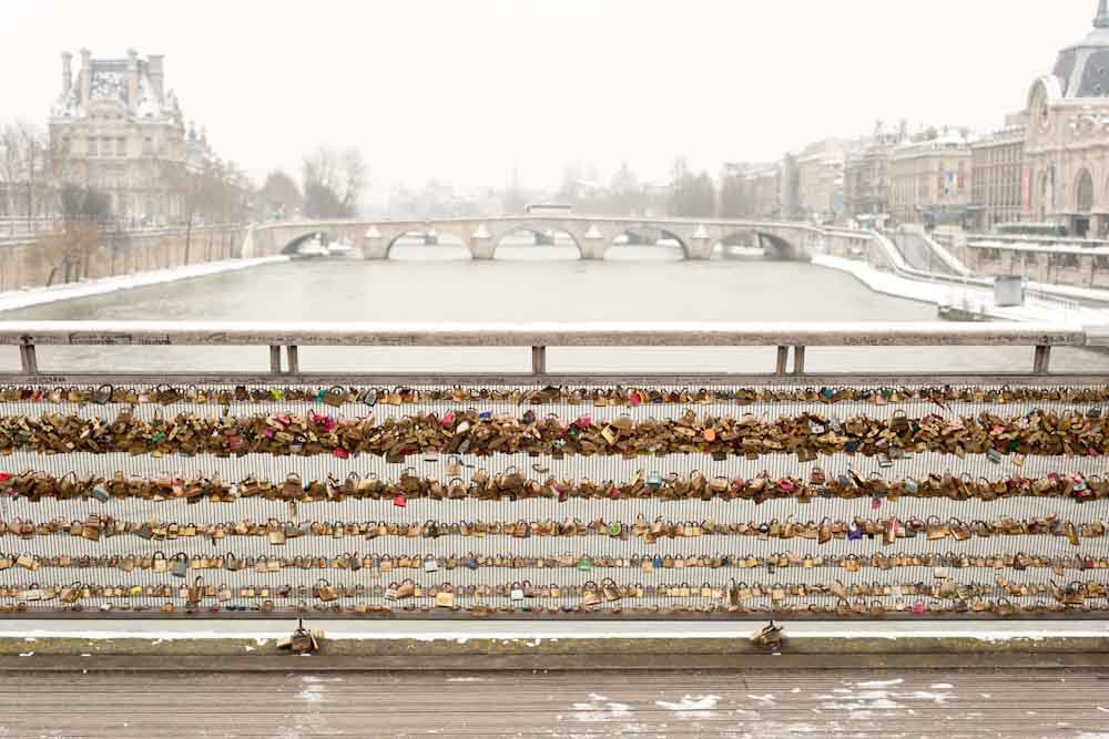Love Locks 1, Paris, 2013
