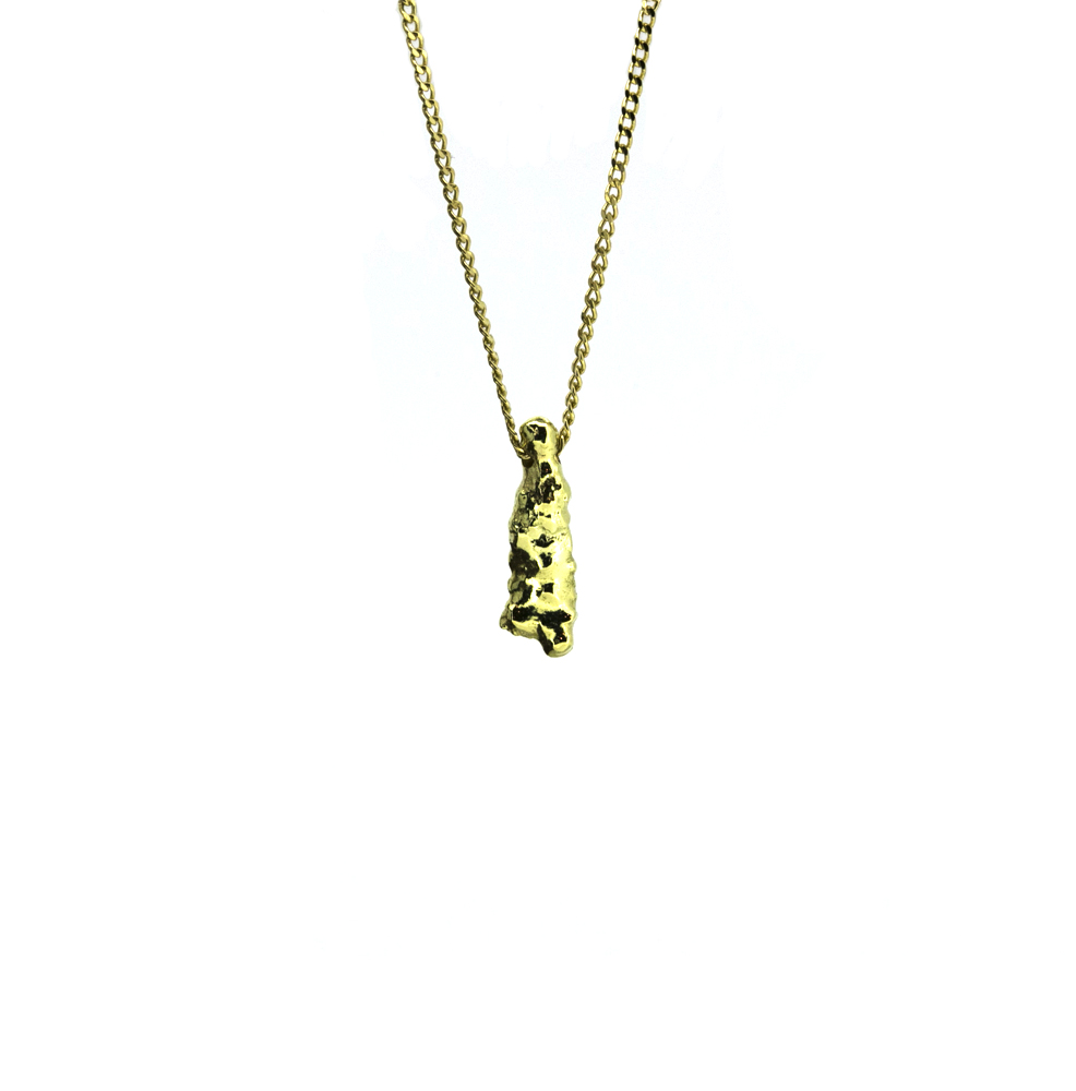 Fairtrade 18ct Gold Pendant & Chain