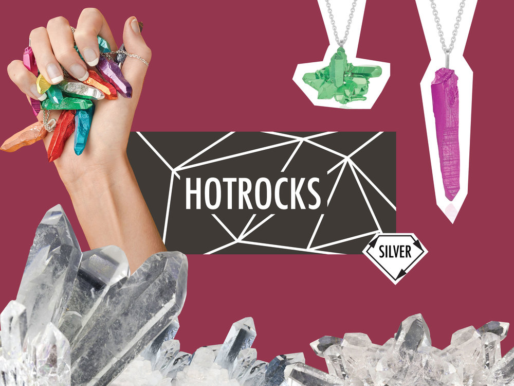 HotRocks Recycled Silver Jewellery Collection