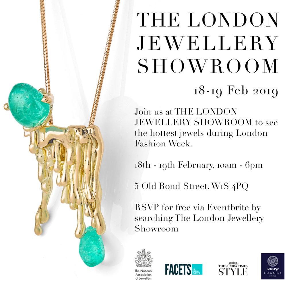The London Jewellery Showroom during London Fashion Week