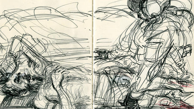 Sketching the War in Afghanistan