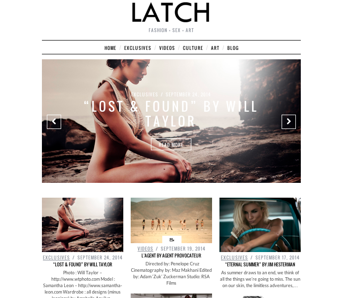 Latch Magazine September 2014