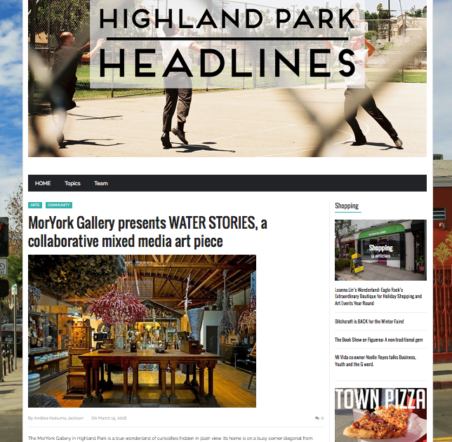 Highland Park Headlines  March 2016