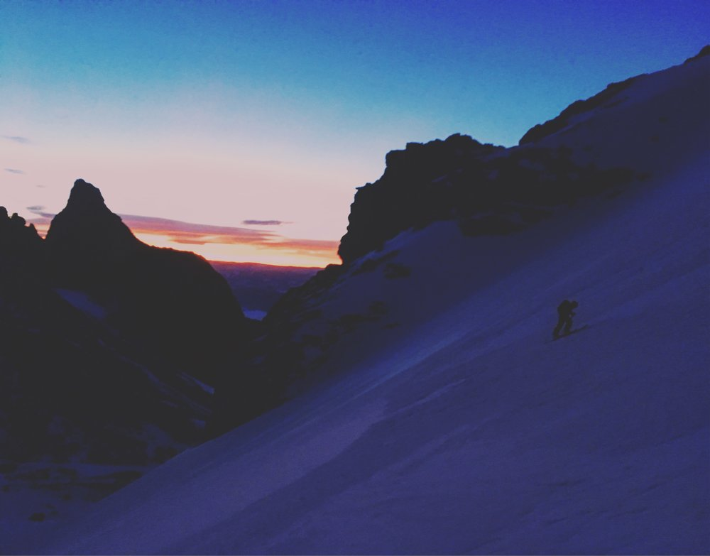 Skinning before the sun