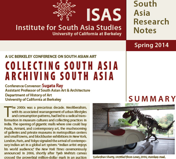 Collecting South Asia