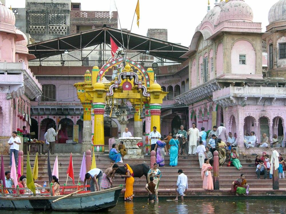Vishram Ghat, Mathura, 2012
