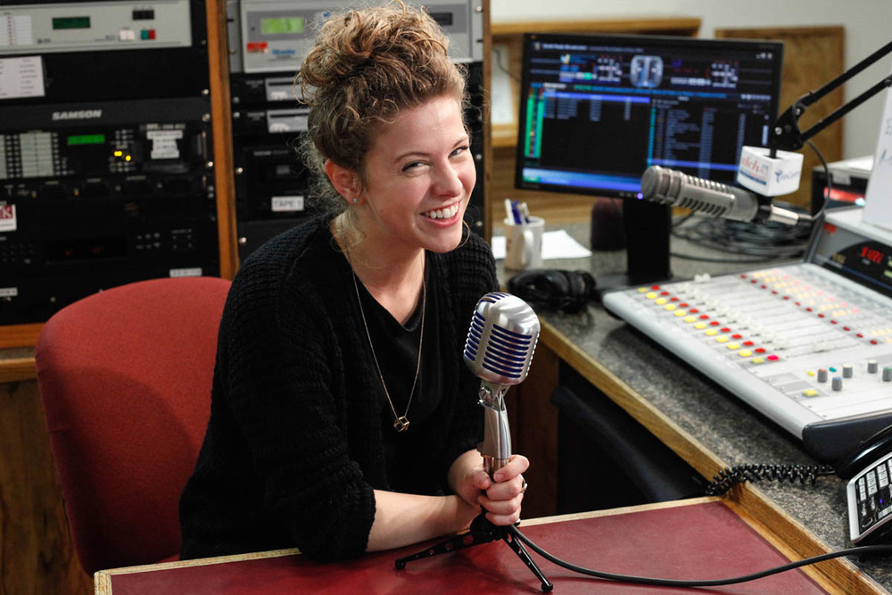 Kelsey '16 goes live on the air as an intern at WLCH Radio Centro and works as social media specialist at the Spanish-American Civic Association.