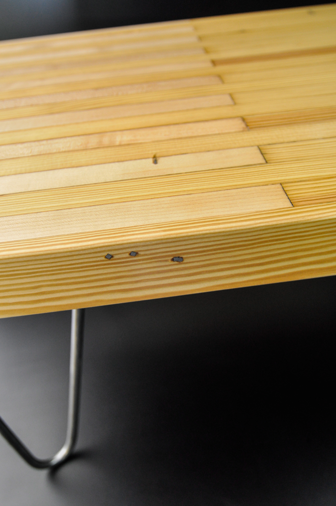 Bowling Alley Coffee Table Corvus Design Build