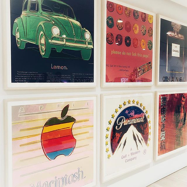 #ad • • • (Faves from the #AndyWarhol exhibition @whitneymuseum)