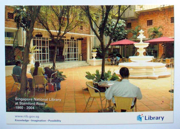 The Courtyard Cafe Photo taken from National Library Board