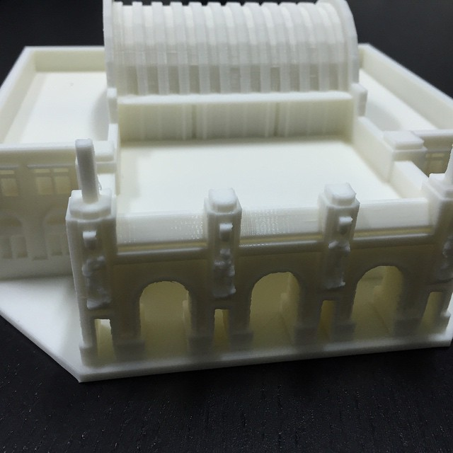 #3dprints of tanjong pagar railway station and many others will be on display at national library building from the 1st of April. Cant wait!