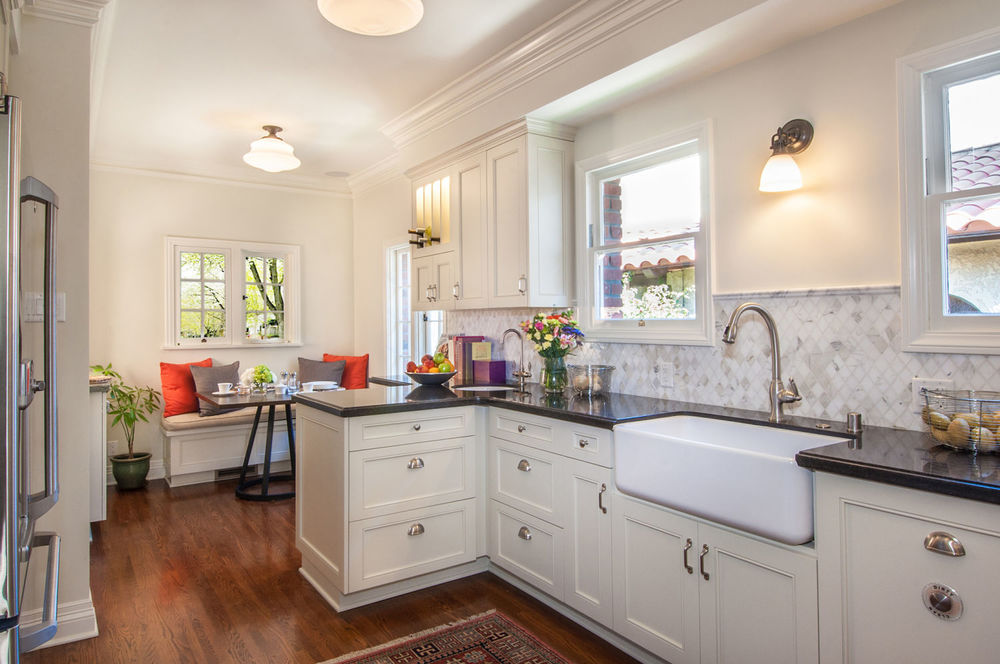 Photo: One of Kaplan Construction's projects, a kitchen remodel in Belmont Shore. For more photos of this remodel, click  here .