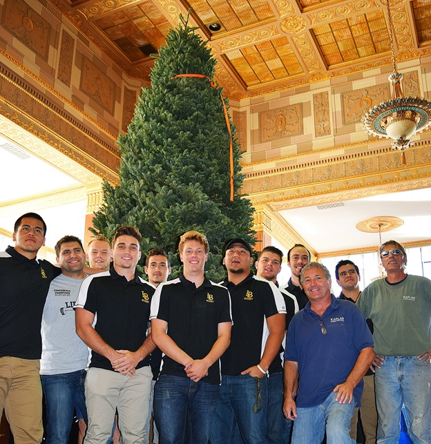 Photo: Kaplan Construction and the CSULB Rugby Team