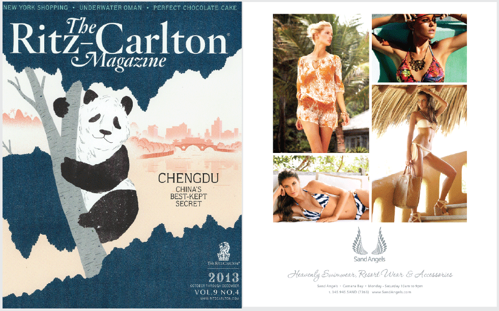 Ritz-Carlton Magazine - Full Page Advert 2013