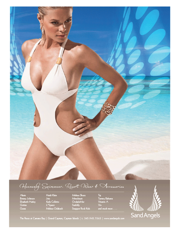 Grand Cayman Magazine - Full Page Advert 2010