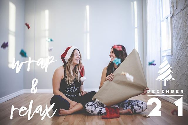 We are getting in the holiday spirit! We can't wait for you to join us at our second annual Wrap &  Relax event on December 21st. While you are getting your bliss on during a Yin & Meditation class our volunteers will be wrapping that last gift you have yet to do. • We also have a few surprises up our sleeves, you won't want to miss it! Save your spot through the link in our profile. All proceeds from the evening go towards @befree_project • #befreefromstigma #communityforacause #befreeeyoga #yegyoga #sweetlifesprucegrove #happyholidays