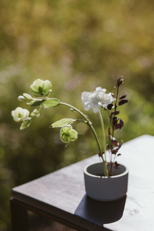 ikebana wedding flowers