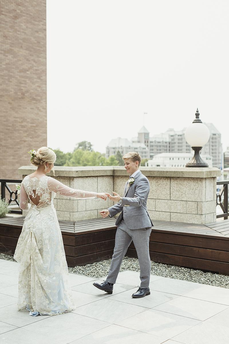 Wedding at the empress hotel victoria bc
