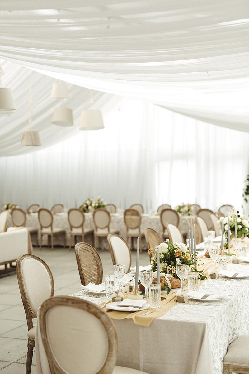 lounge space romantic white tent wedding at sea cider, victoria bc