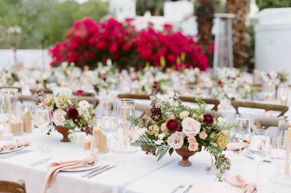 palm springs moroccan inspired wedding reception