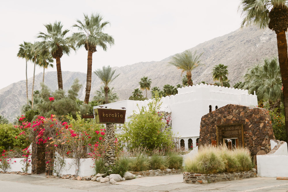 Korakia Pensione Palm Springs Wedding