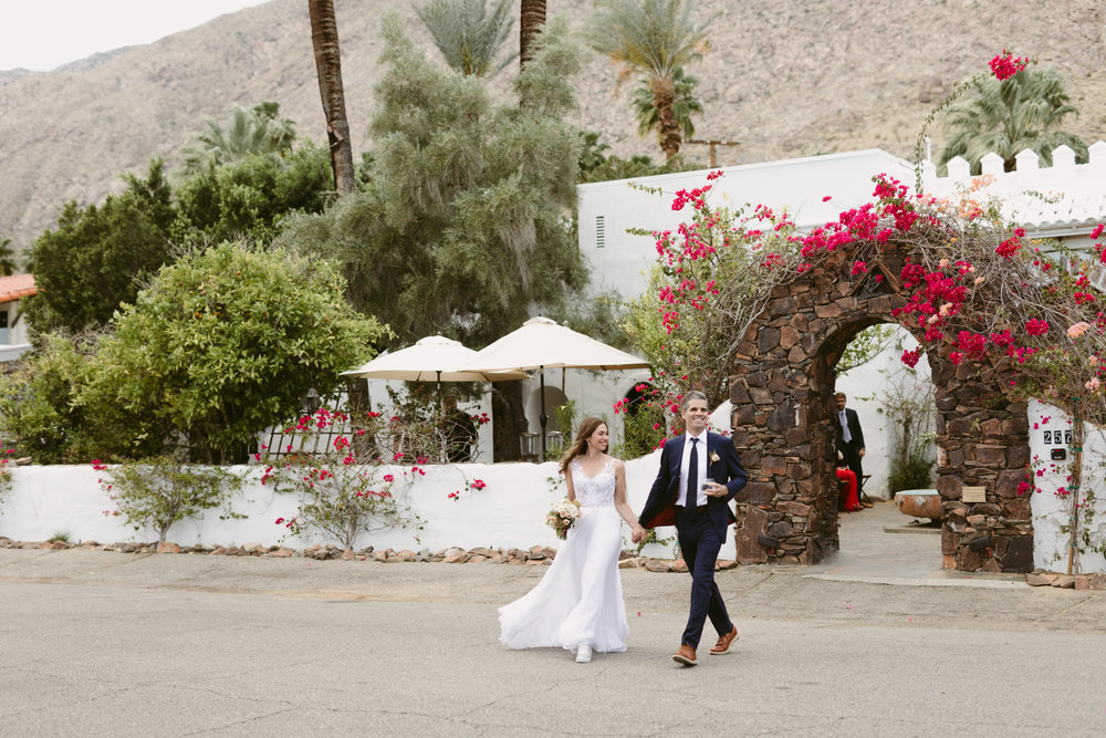 Korakia Pensione Wedding Palm Springs
