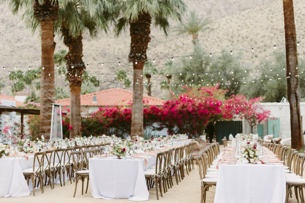 palm springs moroccan inspired wedding reception palm springs korakia pensione