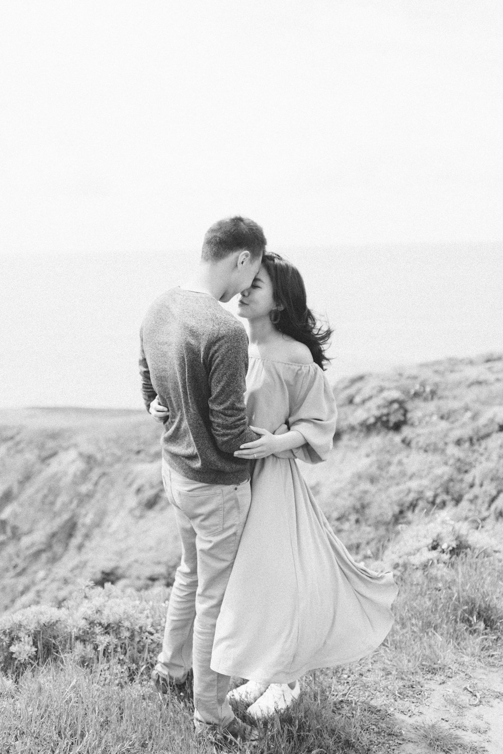 Marin Headlands Engagement Session - Rodeo Beach