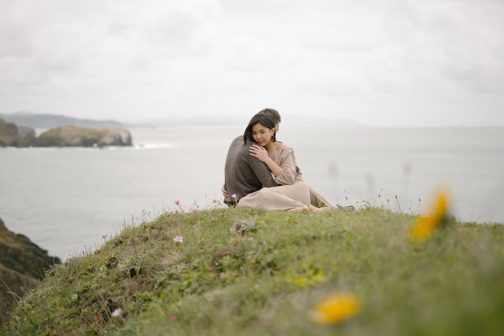 Marin Headlands Engagement Session at Rodeo Beach