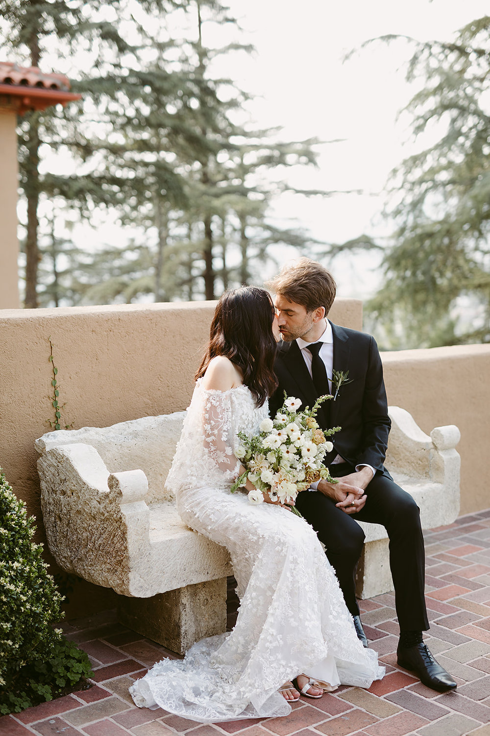 Jena + Curt | Paramour Mansion in Los Angeles