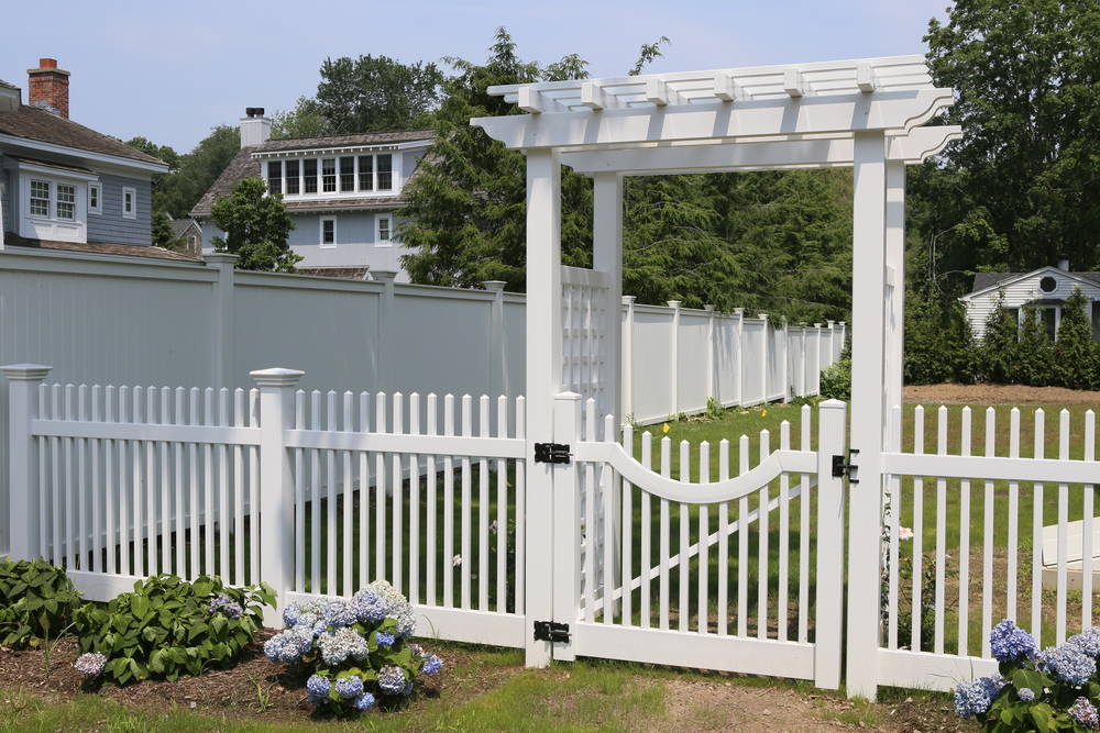 Chestnut Hill with Signature Gate and Garden Trellis