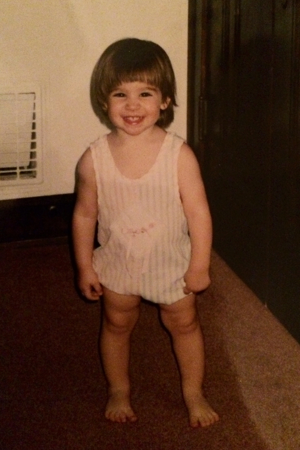 Cheesin' from a young age...
