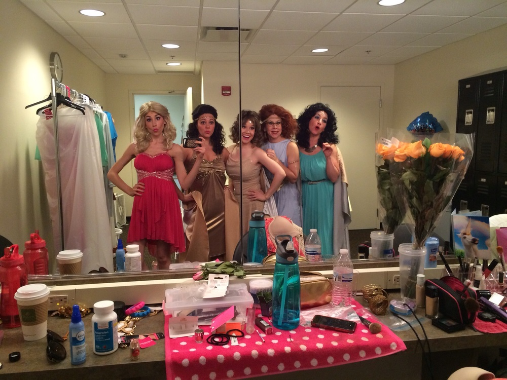 Girls' Dressing Room - These women are amazing!