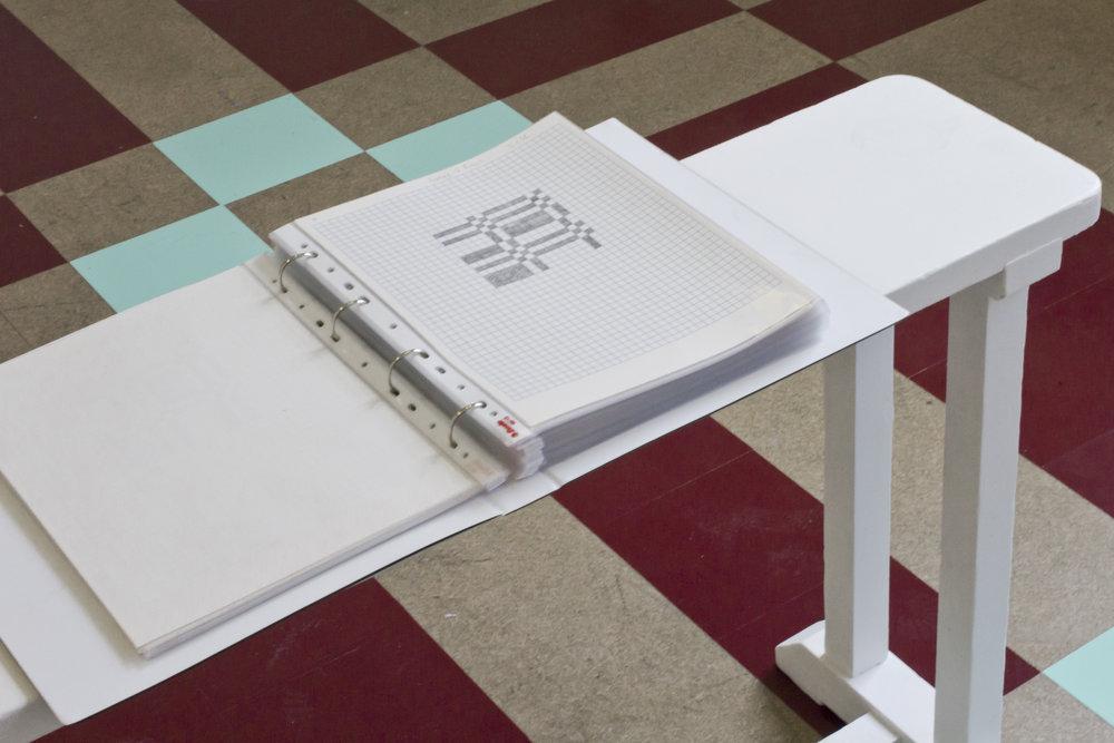 Alt For Damen   Vinyl Flooring with Publication of Drawings  Kunstnarhusset Messen, Norway
