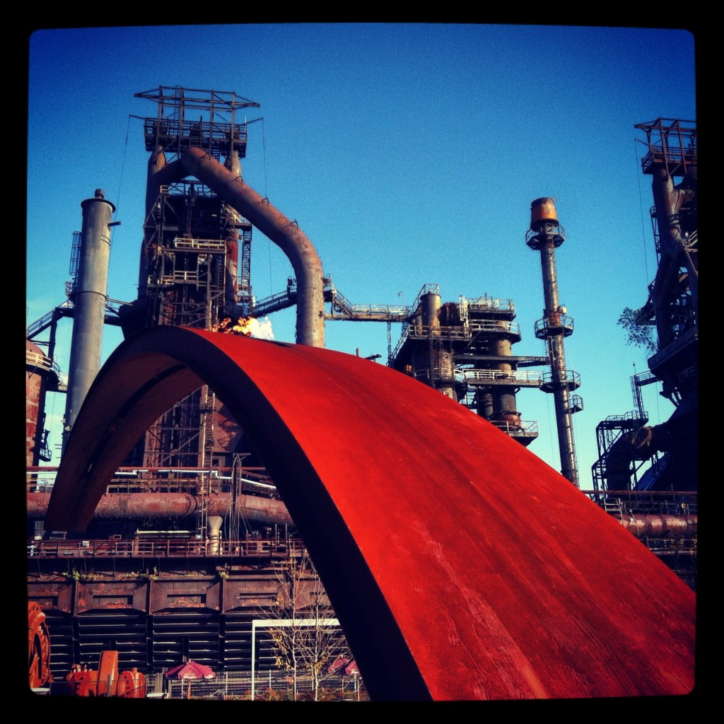 Steel Stacks, Bethelem, #runchat